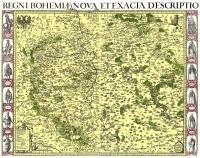 Aretinova mapa Čech
